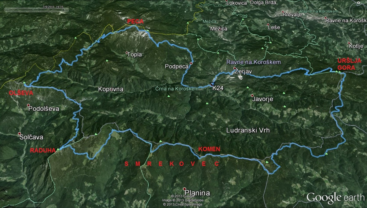 K-24 Najtežji Koroški hribovski izziv