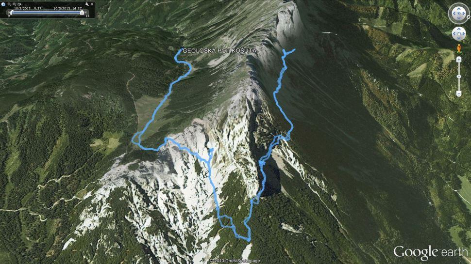 Geološka pot košuta