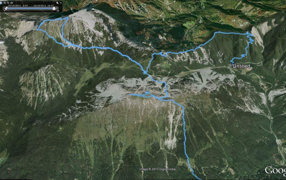 GPS track 2