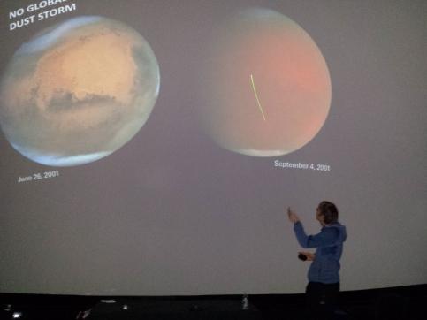 Predavanje v Planetariju Ljubljana