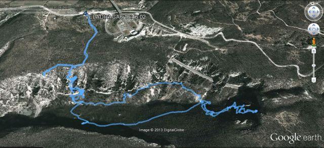 Vela DRAGA GPS