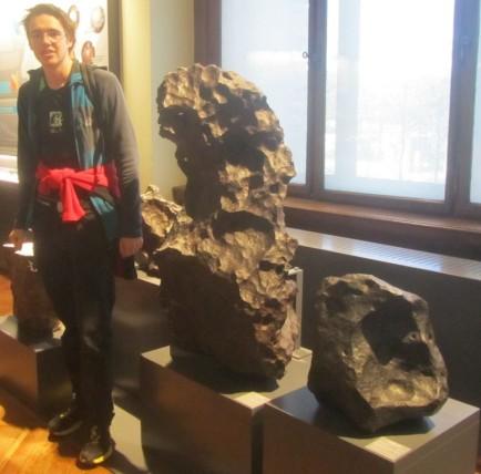 Železovi meteoriti v Dunajskem naravoslovnem muzeju