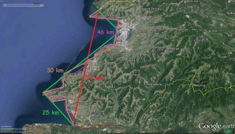 Fraktalnost slovenske obale