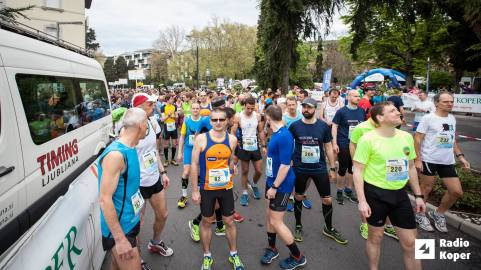 Štart maratona (Foto: Radio Koper/ RTV)