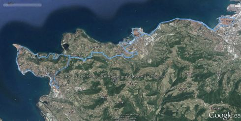 Trasa 3. Istrskega maratona