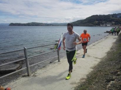 Tekel je tudi Pahor in bil v cilju 3 min pred mano ter bil s tem eden izmed 562 polmaratoncev (od 2000), ki jih nisem uejl