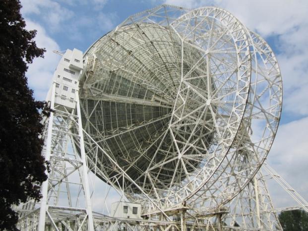 Teleskop se obrača presenetljivo hitro: 10 oz. 15° / min