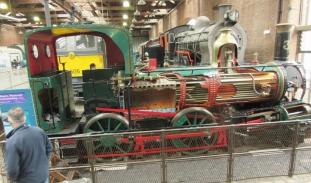 Para in z njo parne lokomotive so bile dominantna sila industrijske revolucije