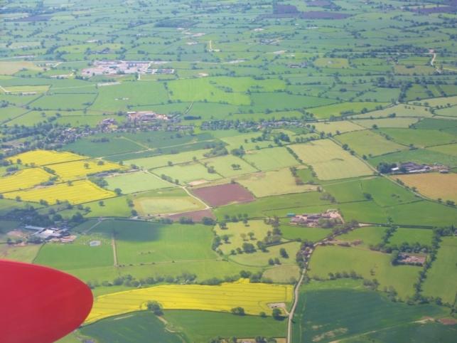 Angleško podeželje iz zraka