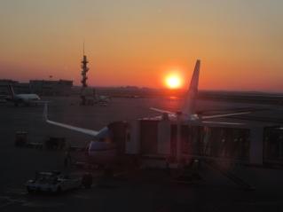 Jutro na letališču v Benetkah