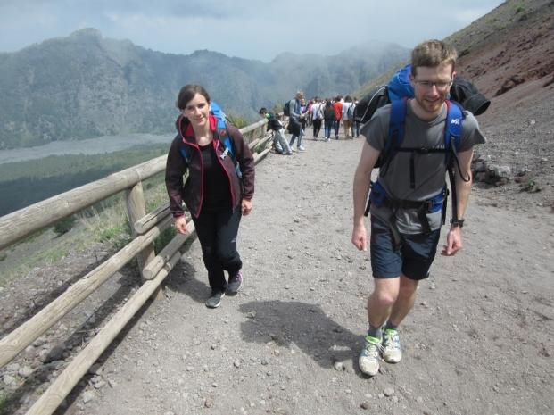 Pot na Vezuv