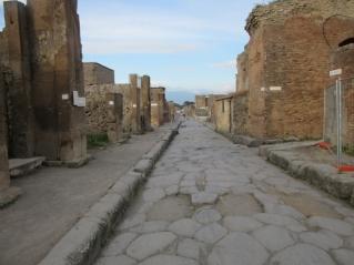 Ulica v Pompejih