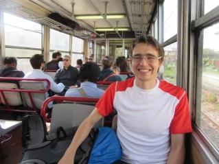 Vlak do mesta Ercolani