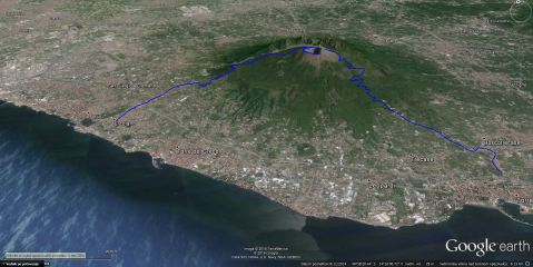Naša pot od Herculaneuma do Pompejev