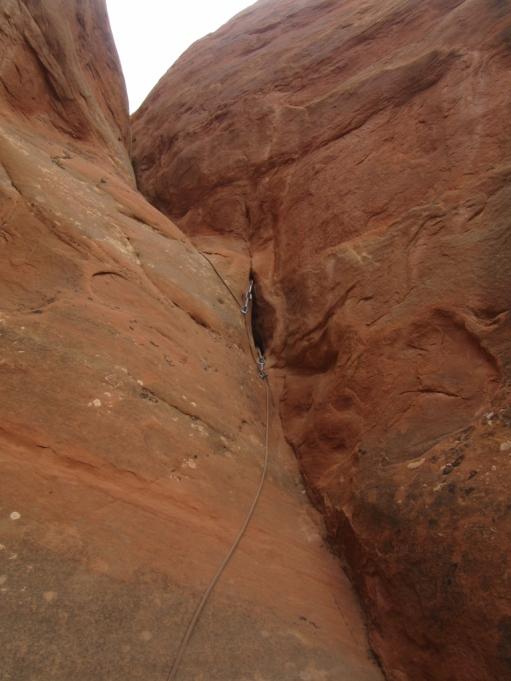 Plezanje nad našim taborom