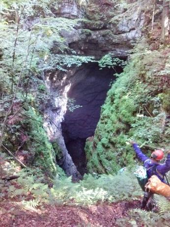 Vhod v ledeno jamo