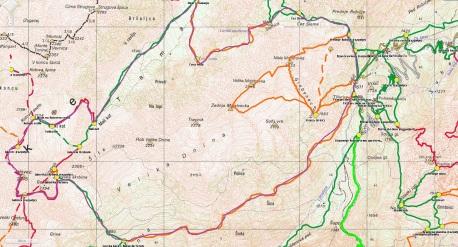 Zemljevid ture