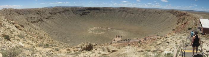 Barringerjev ali meteorski krater v Arizoni