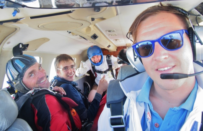 Pilotov selfie