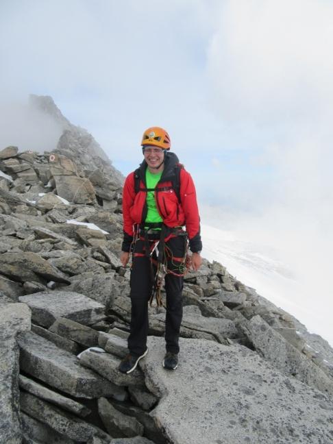 Na grebenu proti vrhu
