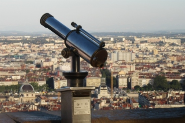 Razgled nad mesto iz Fouvierja