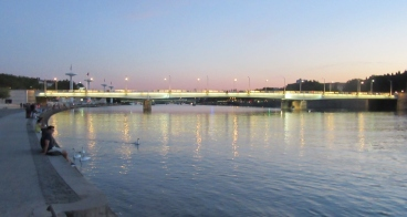 Reka Rona ponoči