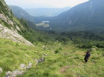 Izhodišče - Zgornje Belopeško jezero