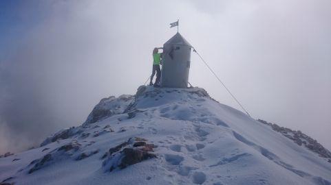 Sneg na Triglavu