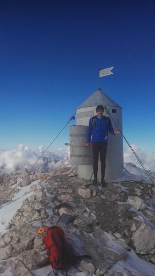 2 uri in 10 sekund s Krme na vrh Triglava