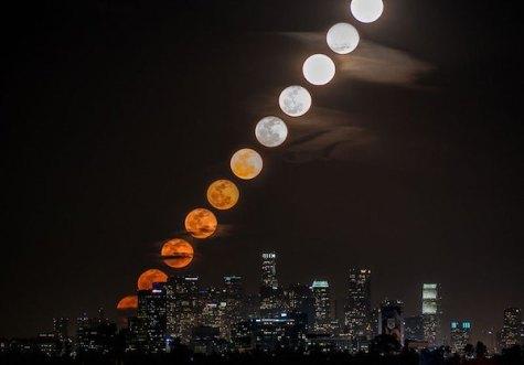 Dokaz da je Luna ves čas enako velika