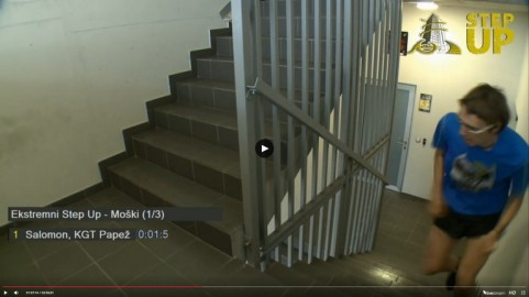 Tek po stopnicah