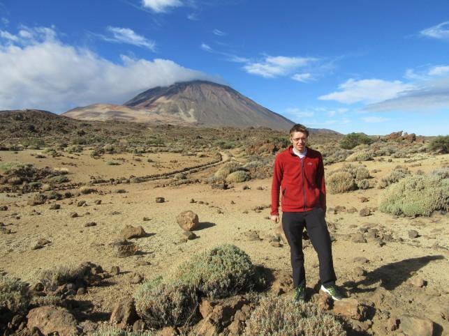 Kaldera in Teide