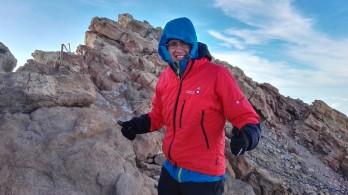 Še drugič na vrhu Teide