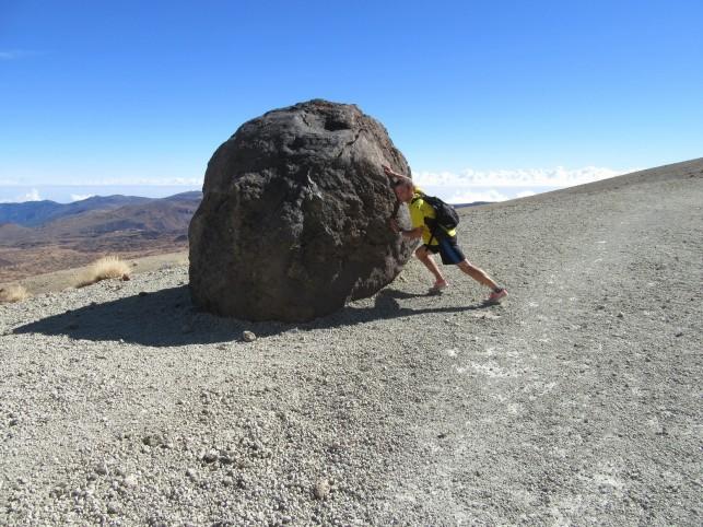Kdo je močnejši: skala ali Žiga