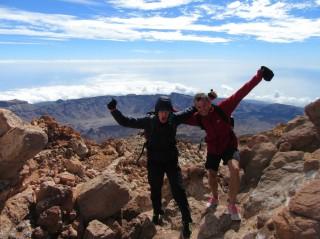 Vrh El Teide (3719 m)