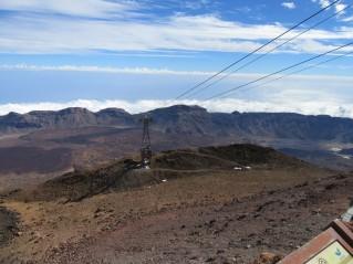Gondola pripelje na višino 3555 m