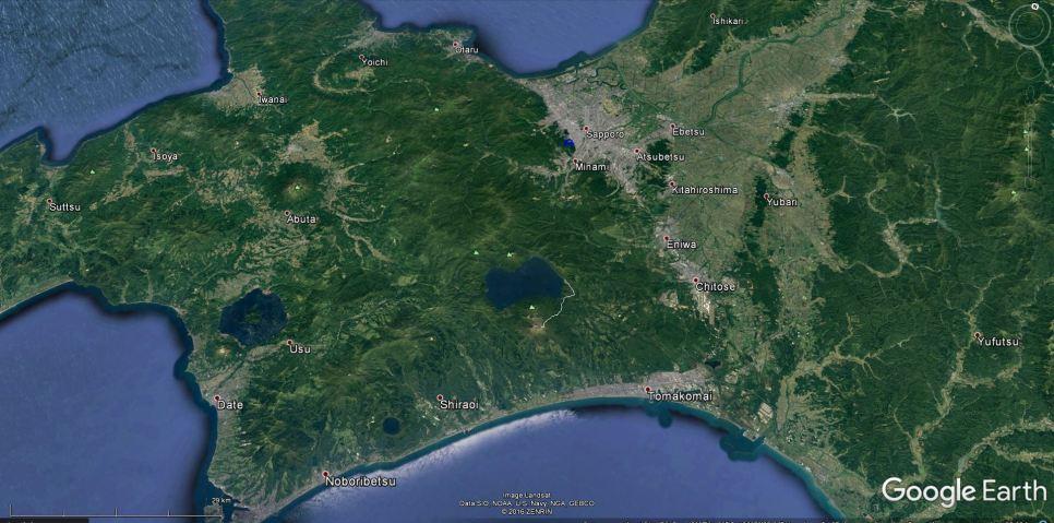 Lokacija Sapora