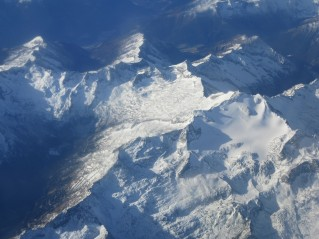 Pogorje Ankogelgruppe. Gora v sredini je Sauleck: https://bojanambrozic.com/2010/08/08/sauleck/