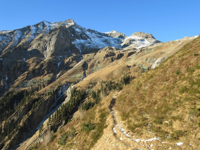 Pot proti Reiseckhutte