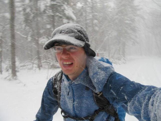 V boju s snegom