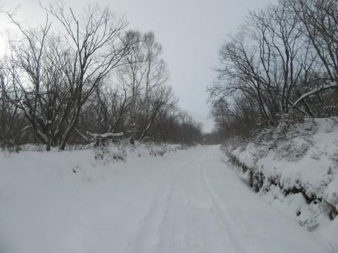 Zadnji kilometri do izhodišča