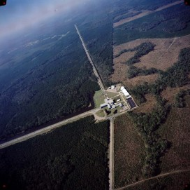 Del LIGO observatorija v Hanfordu v Washingtonu (Vir: LIGO laboratory)