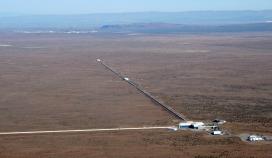 Del LIGO observatorija v Livingstonu v Lusiani (Vir: LIGO Laboratory)