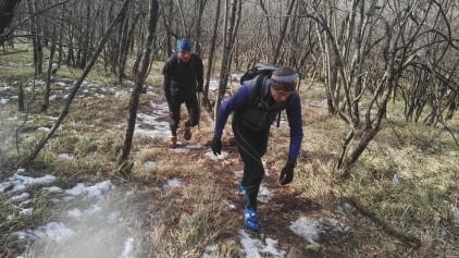 Poledenela pot na Slavnik