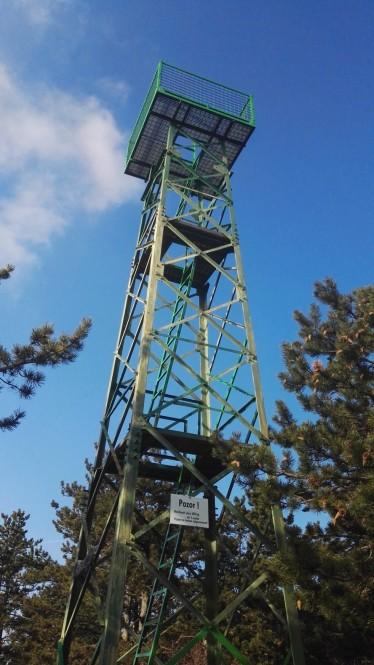 Razgledni stolp na Lačni