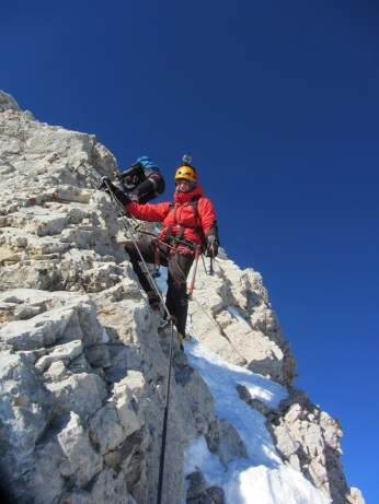 The top ridge of Triglav