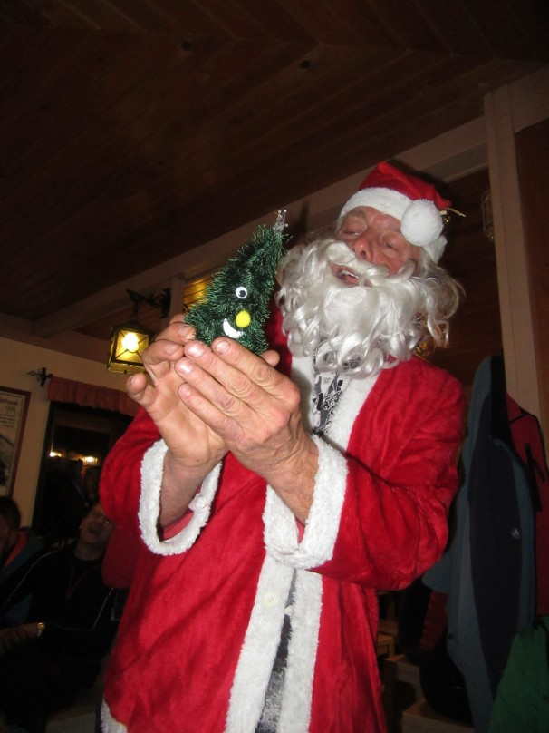Na Kredarici nas je obiskal Božiček