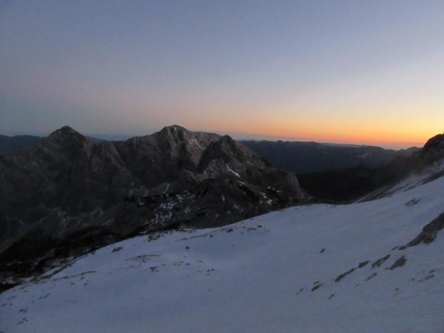 Zadnji sončni zahod v letu 2016