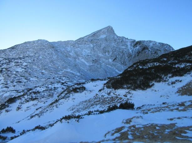 Veliki Draški vrh je skorajda brez snega
