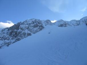 Snežišče pod Centralno grapo